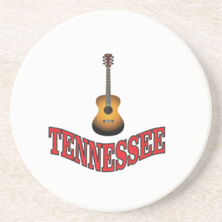 Tennessee Guitar Coaster