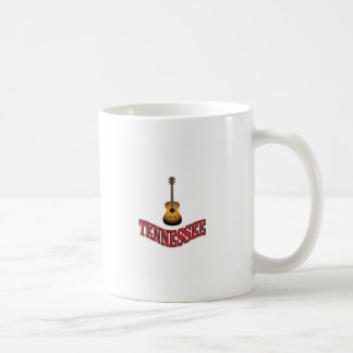 Tennessee Guitar Coffee Mug