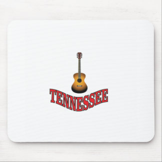 Tennessee Guitar Mouse Pad