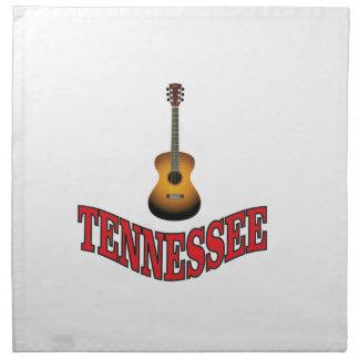 Tennessee Guitar Napkin