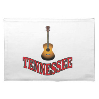 Tennessee Guitar Placemat