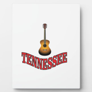 Tennessee Guitar Plaque