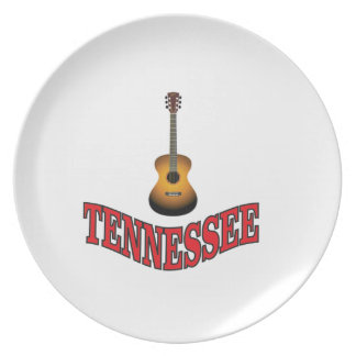 Tennessee Guitar Plate