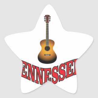 Tennessee Guitar Star Sticker