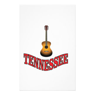 Tennessee Guitar Stationery
