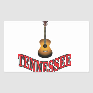 Tennessee Guitar Sticker