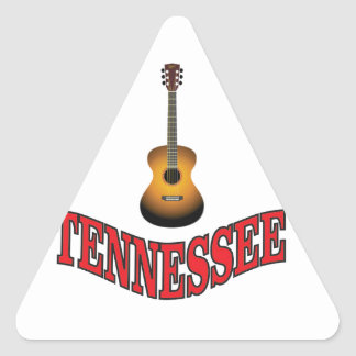 Tennessee Guitar Triangle Sticker
