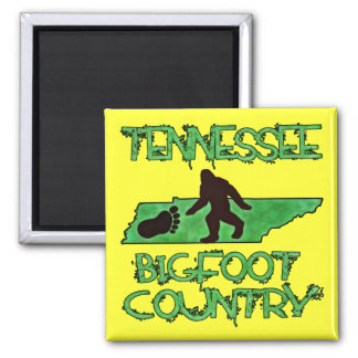 Tennessee Is Bigfoot Country Magnet