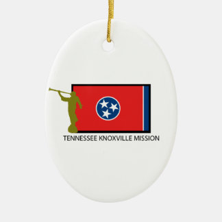 TENNESSEE KNOXVILLE MISSION LDS CTR CERAMIC ORNAMENT