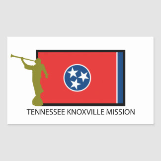 TENNESSEE KNOXVILLE MISSION LDS CTR STICKER