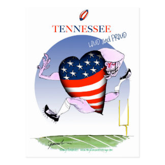 tennessee loud and proud, tony fernandes postcard