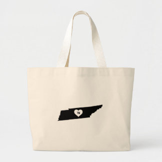 Tennessee Love Large Tote Bag