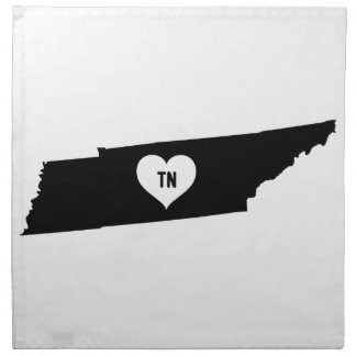 Tennessee Love Napkin