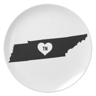 Tennessee Love Plate