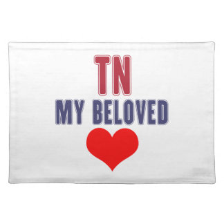 Tennessee my beloved place mat
