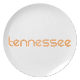 Tennessee Orange Plate