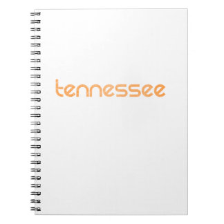 Tennessee Orange Spiral Notebook
