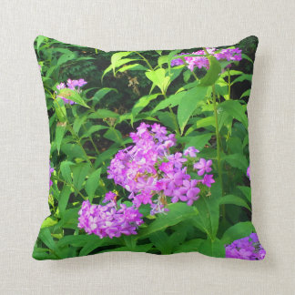 Tennessee Phlox Throw Pillow
