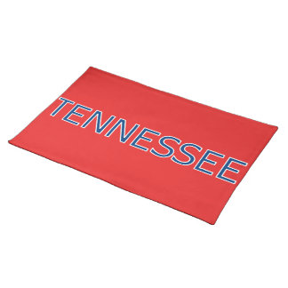 Tennessee Red Cloth Placemat