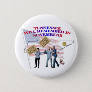 Tennessee - Return Congress to the People! 2 Inch Round Button
