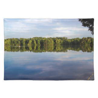 Tennessee River Alabama on a Blue Day Place Mat