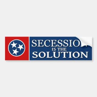 Tennessee Secession Bumper Sticker