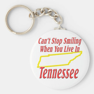 Tennessee - Smiling Keychain