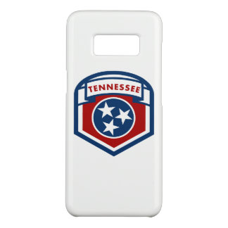 Tennessee State Flag Crest Shield Style Case-Mate Samsung Galaxy S8 Case