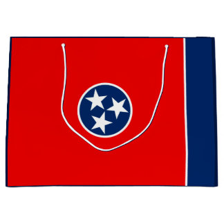 Tennessee State Flag Design Large Gift Bag