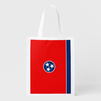 Tennessee State Flag Design Market Totes