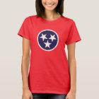 Tennessee State Flag Grunge Nashville Love T-Shirt
