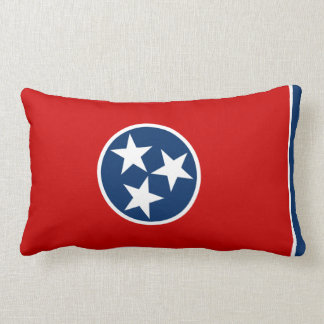 Tennessee State Flag Lumbar Pillow