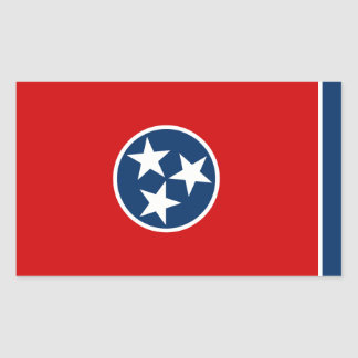 Tennessee State Flag, United States Sticker