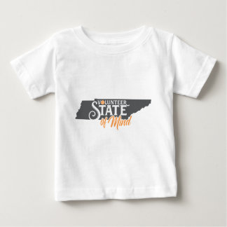 Tennessee State Of Mind Baby T-Shirt