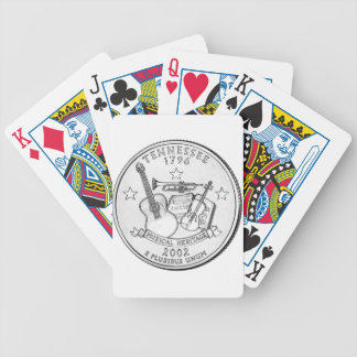 Tennessee State Quarter Bicycle Playing Cards