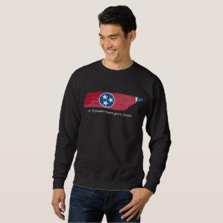 Tennessee State shape/flag sweatshirt