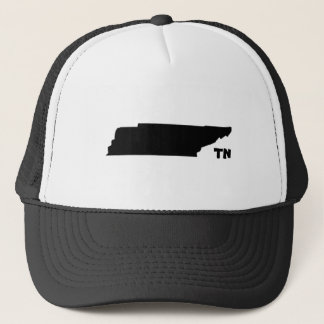 Tennessee State Shape Trucker Hat with TN Logo