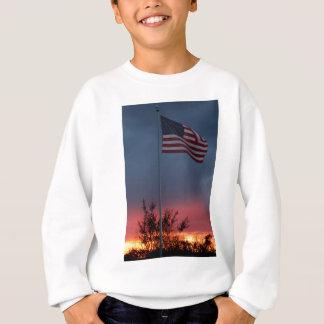 Tennessee Sunset and Flag Sweatshirt