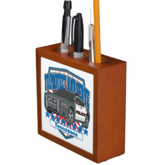 Tennessee To Protect and Serve Police Car Pencil Holder
