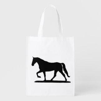 Tennessee walking horse reusable bag market totes