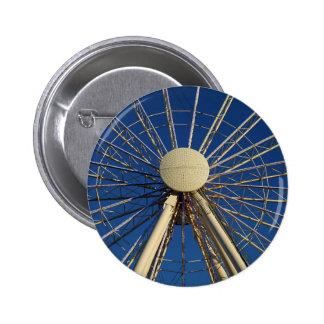 Tennessee Wheel 2 Inch Round Button