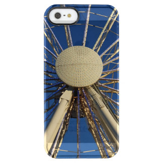Tennessee Wheel Clear iPhone SE/5/5s Case