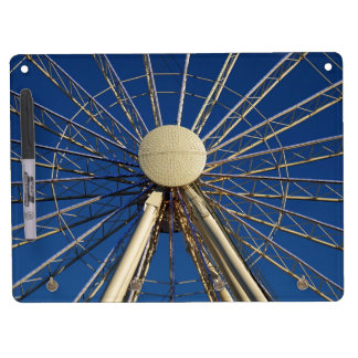 Tennessee Wheel Dry Erase White Board