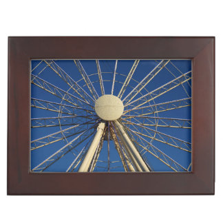 Tennessee Wheel Keepsake Box
