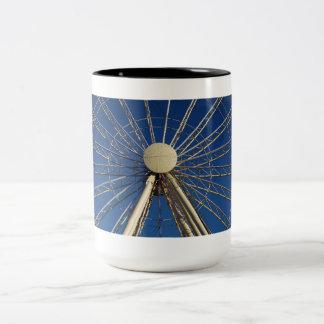 Tennessee Wheel Two-Tone Coffee Mug
