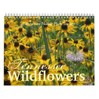 Tennessee Wildflowers Wall Calendar