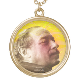 Tennessee Williams Gold Plated Necklace