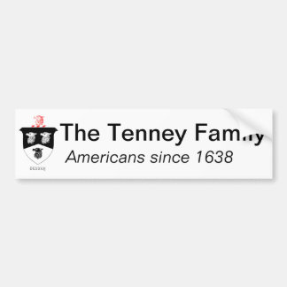 Tenney Family Bumper Sticker