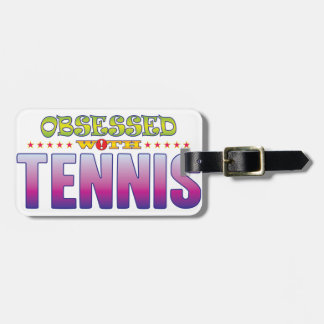 Tennis 2 Obsessed Luggage Tag