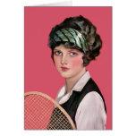 Tennis Anyone Greeting Card